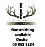 Gunsmithing available at HRC Ltd, The Hunting and Reloading Centre, New Zealand.